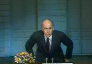 Discours du Au-revoir de Valéry Giscard d'Estaing